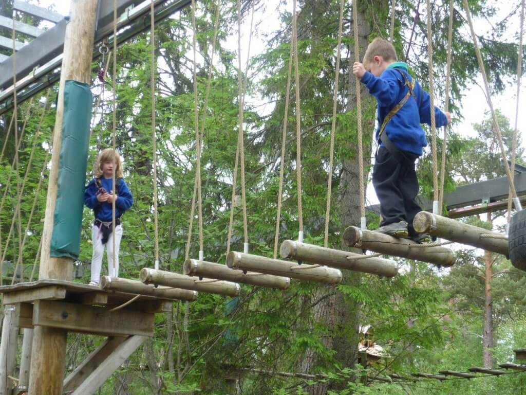 Landmark Forest Adventure park, carrbridge