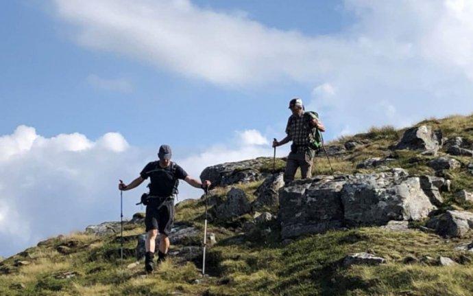hill walking in Scotland