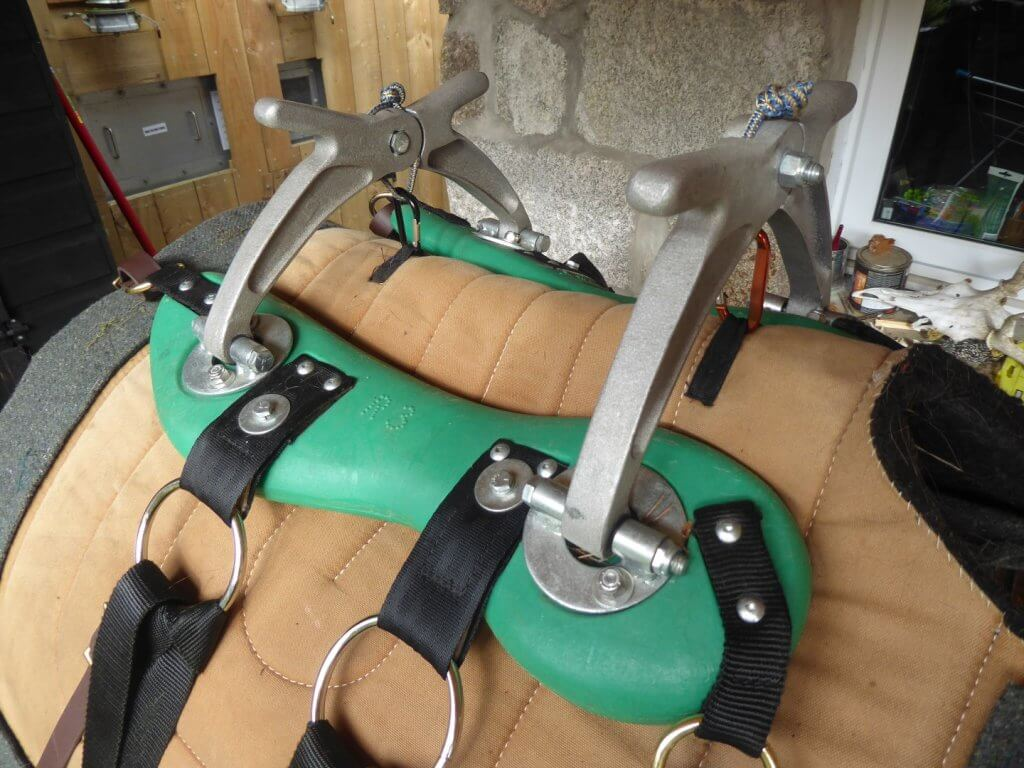 horse welfare - pack saddle
